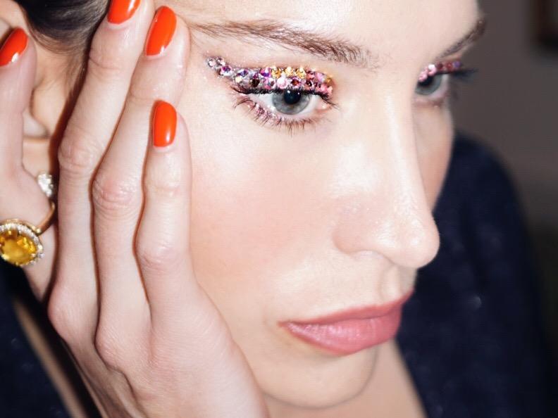 NYE Make Up Look