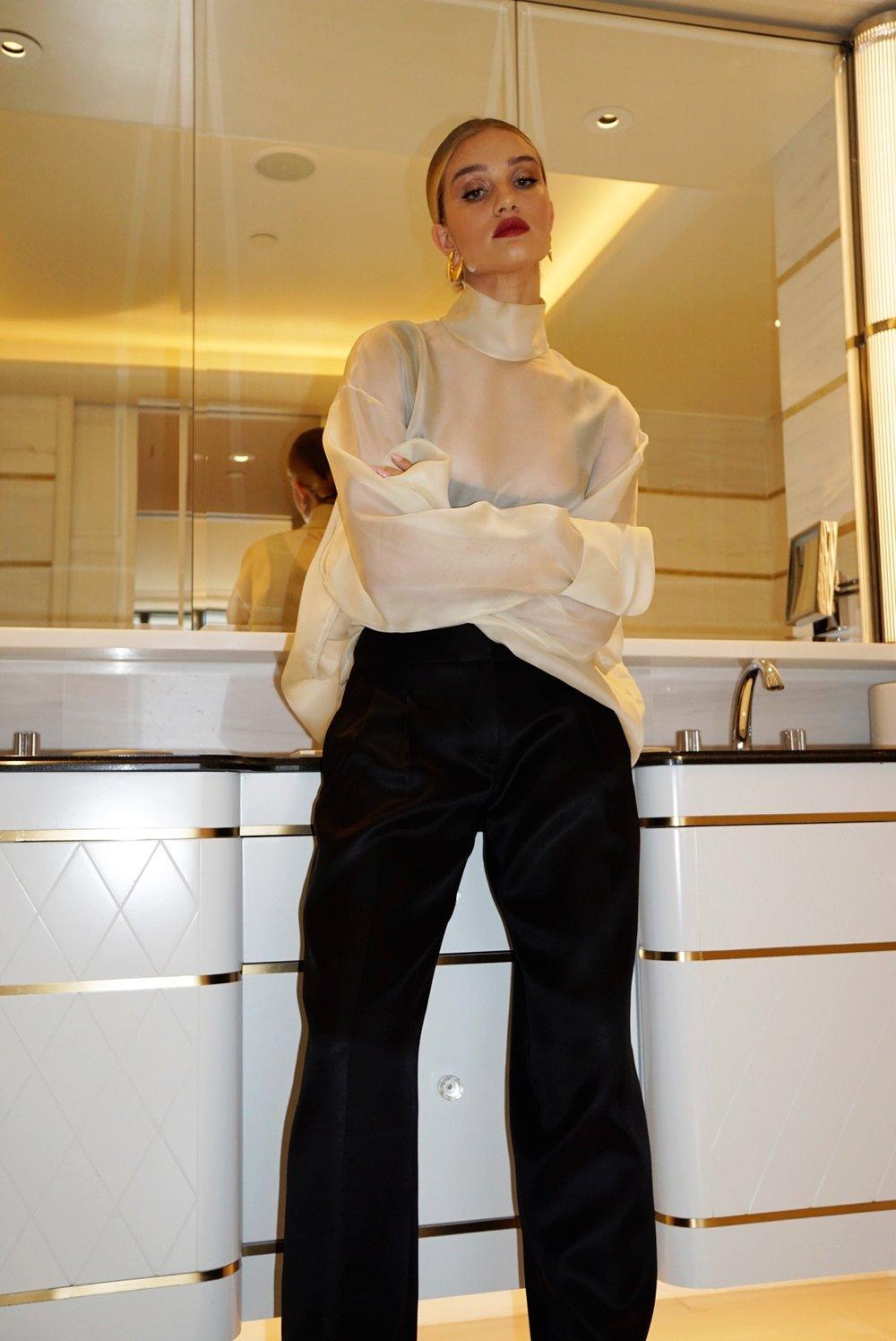 Rosie BareMinerals Makeup by Nikki DeRoest