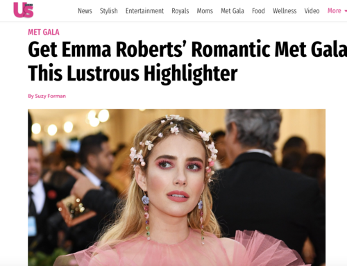 Get Emma Roberts' Romantic Met Gala Glow With This Lustrous Highlighter