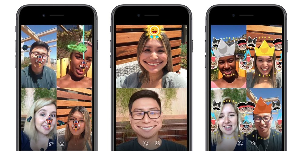 Facebook Launches AR game - just like Snapchat, in messenger update (9to5mac)