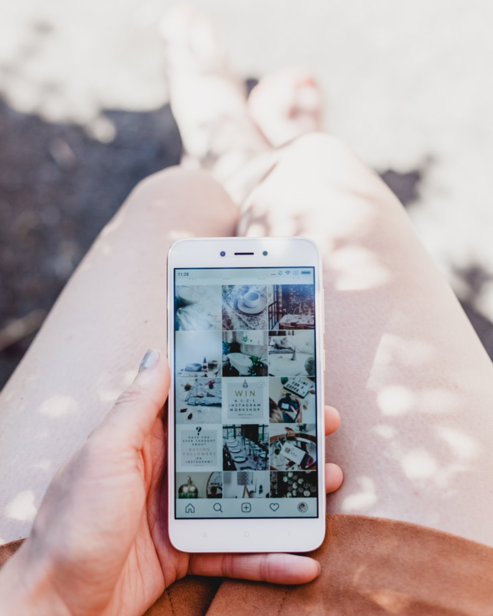 Instagram users are reporting the same bizarre hack - Krista, an Instagram user with more than 4,500 followers on her fitness account, noticed something strange on Saturday evening: she had been logged out of her account. (Mashable)