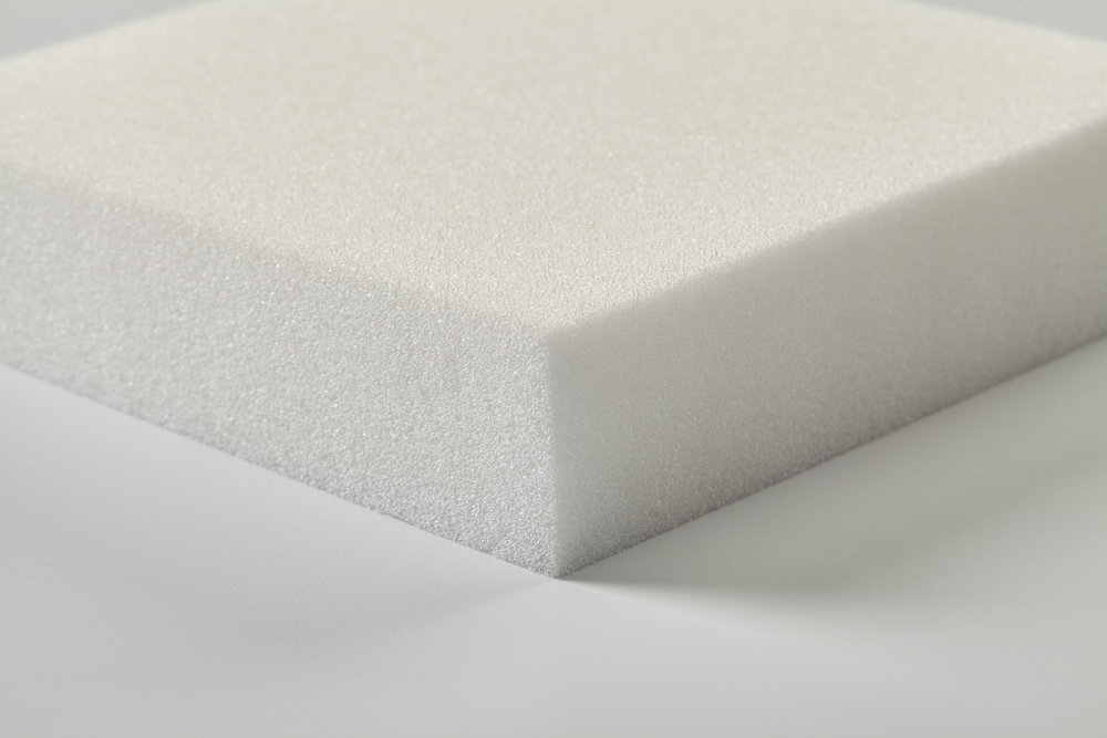 SEAT PLUS - A good, medium-density and budget-friendly foam option designed to deliver reliable and lasting comfort.• Density: 1.5 lbs/cubic ft. • Firmness options: Medium and Firm.• Pricing: $1.32/board foot.