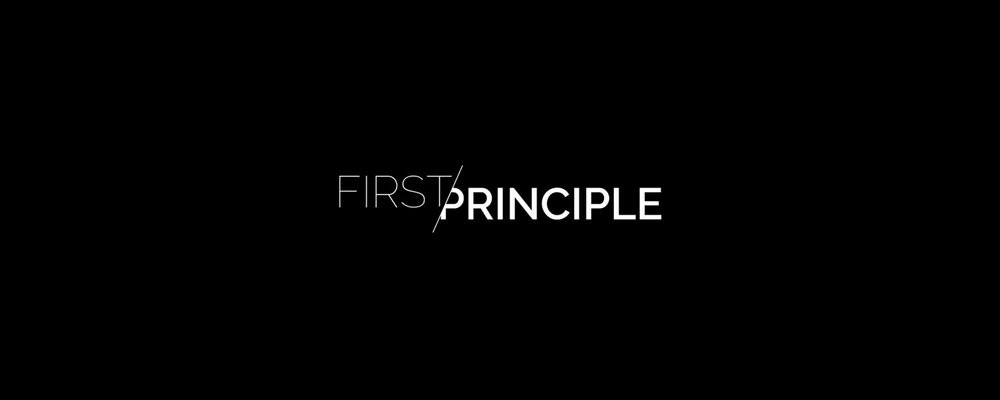 Designed for a consulting agency that is about thinking from first principles — We don't assume anything. We doubt everything we can possibly doubt. We break things down to the fundamentals and build up from there.