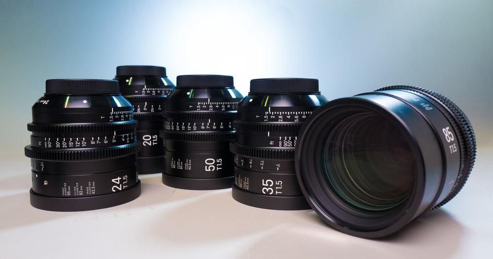 Sigma Full Frame Primes - EF mount