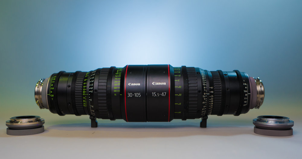 Canon Lightweight Zooms - PL or EF mount