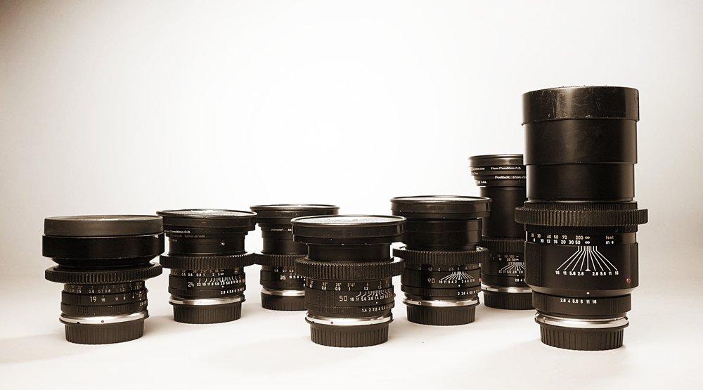 Leica-R Primes - EF mount