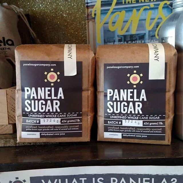 Panela sugar is now available at @fromagination on the square! #madison #capitolsquare #panela #sugar