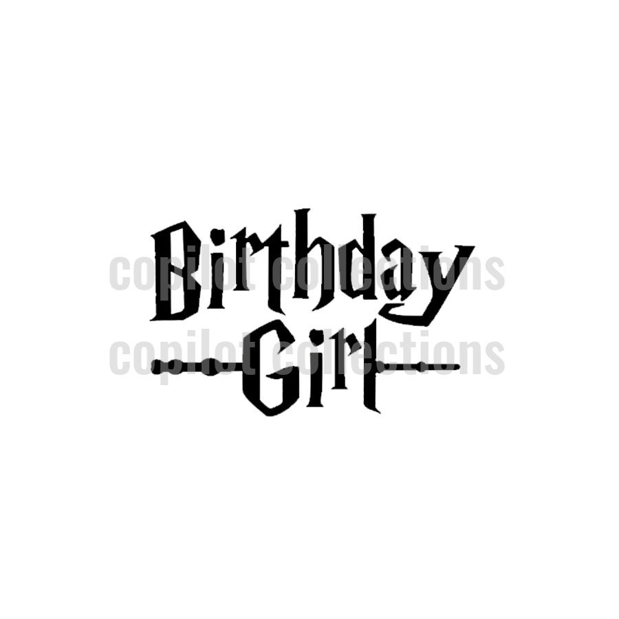 Birthday Girl Vinyl Add-On