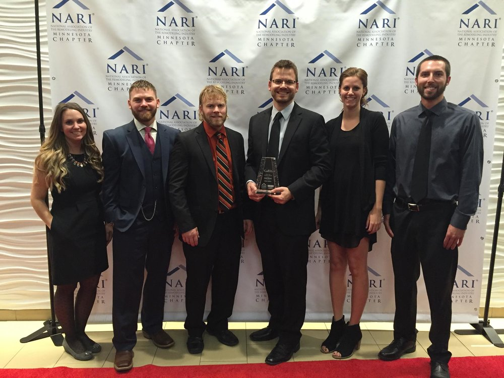 NARI Minnesota's 2015 Contractor of the Year Award: Gold Award