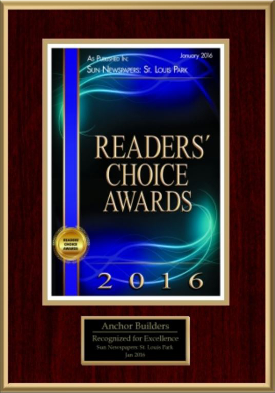 Best New Home Builder and Interior Designer of 2016- Sun Sailor Readers' Choice