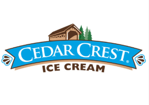 Proudly Serving Cedar Crest Premium Ice Cream -