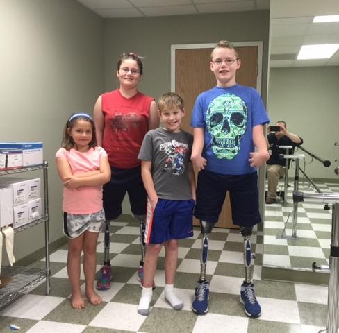 RESTORE POC prosthetic patient in North Carolina.