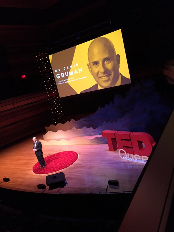 Click here to watch Jamie's TEDx talk on The Most Important Part of the Good Life -