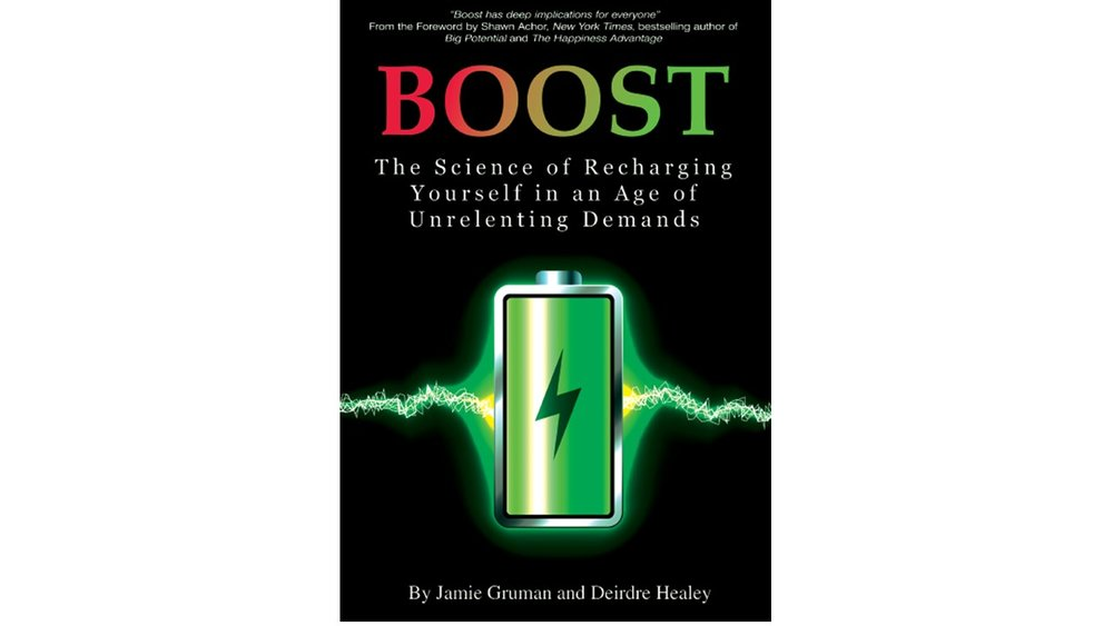 Boost explains how to recover from fatigue in your leisure time, and achieve psychological well-being, physical health, and become more effective at your tasks, ie., get a boost! -