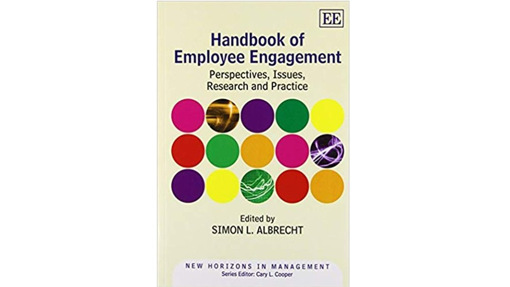 Jamie's chapter in The Handbook of Employee Engagement discusses how employee engagement is influenced by the on-boarding process. -