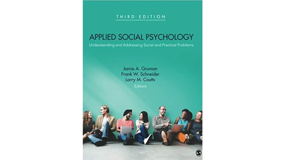 The third edition of Jamie's market-leading book on Applied Social Psychology explains how to use social psychology to understand and address social and practical problems of all kinds. -