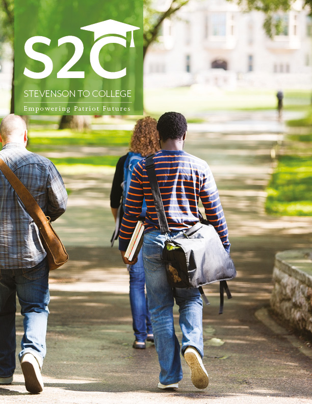 Stevenson to College (S2C) Case for Support Brochure Cover