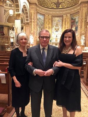 G.G & PAPA (MOM & DAD) & LIZ:  St Ignatius Loyola Church, New York, NY