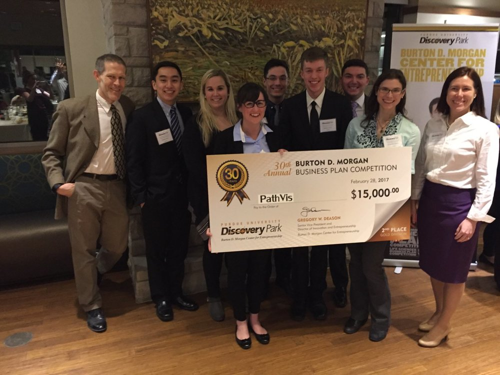 Burton Morgan Business Plan Competition - OmniVis Takes Home 2nd at the Burton Morgan Business Plan Competition in the Gold Division at Purdue University on February 22, 2017.
