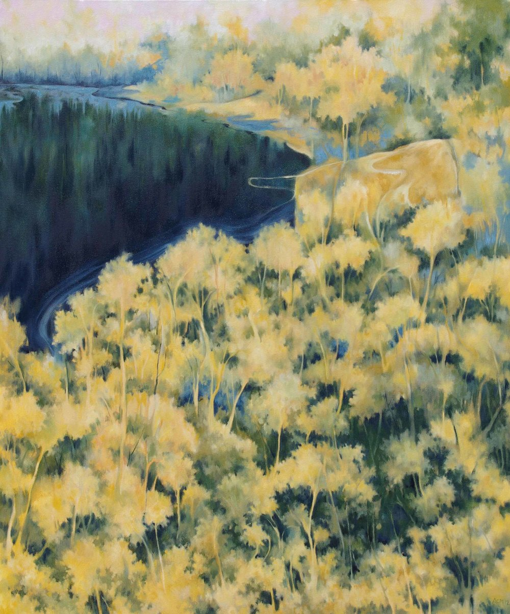 Ecoscape 10 (Yellow Forest)