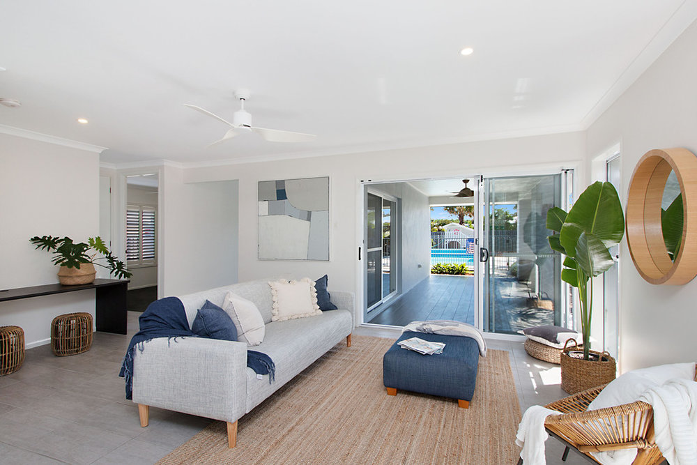 Casuarina NSW property styling for home sale