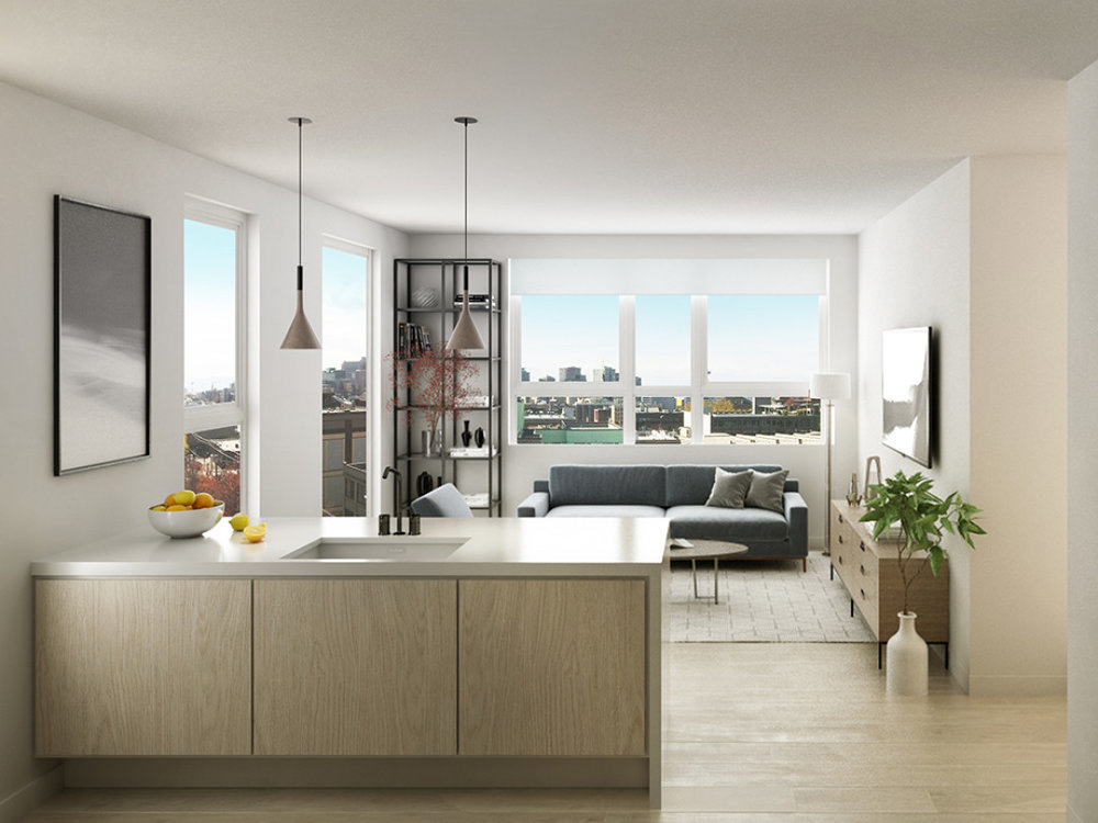 Floor Plans - 45 condominium homes with a range of floor plan options including studios, one bedroom and two bedroom homes priced from the mid-$400,000s.
