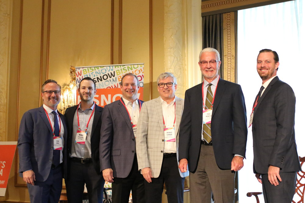 PICTURED ABOVE: (Left to right) Dean Jones, President & CEO at Realogics Sotheby's International Realty, Marc Coluccio, COO at SolTerra, Richard Obernesser, President at BDR Holdings, Brian O'Connor of O'Connor Consulting Group, Paul Menzies, CEO at Laconia Development, and Josh Nasvik, Project Director at Polaris Pacific