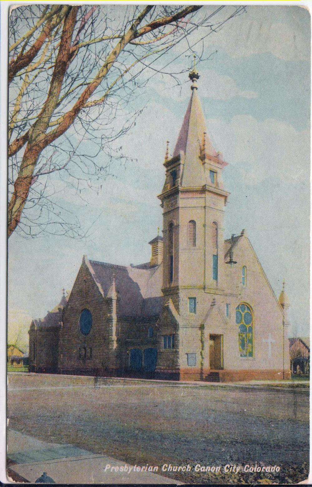 The United Presbyterian Church - This is a copy of a postcard from the early 1900's