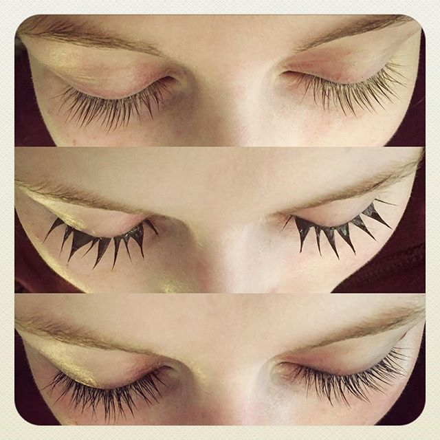 • LASH TINTING! Before, during & voilà! 🦋 • Sugarpuss Beauty lash tinting can last up to 4-6 weeks. Great for those who wear make-up ~ even better for those who choose not to. A small but effective self care ritual that is virtually effortless! Come visit our beautiful & cozy petite spa in the Alberta Arts District of Portland for all your skin care needs.