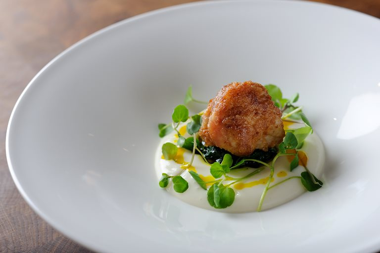 SWEET BREADS | CAULIFLOWER | BASIL OIL | WATERCRESS