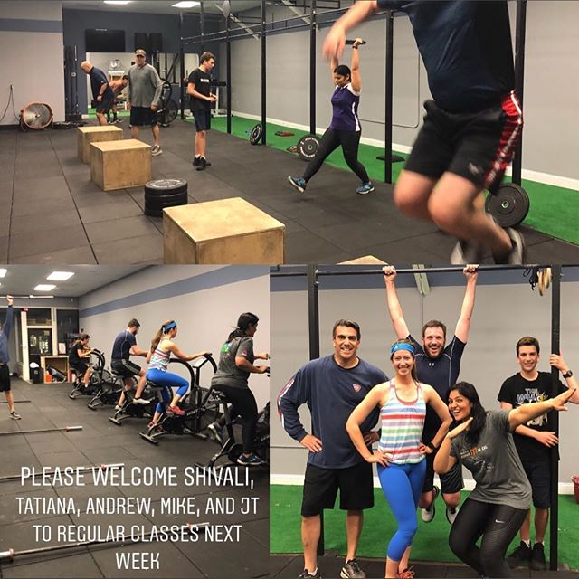 1st group of on ramp done and ready to join regular classes next week please welcome them and introduce yourself if you see them in your classes! #betterfasterstronger #mymembersarebetterthanyours #schuboxathletics