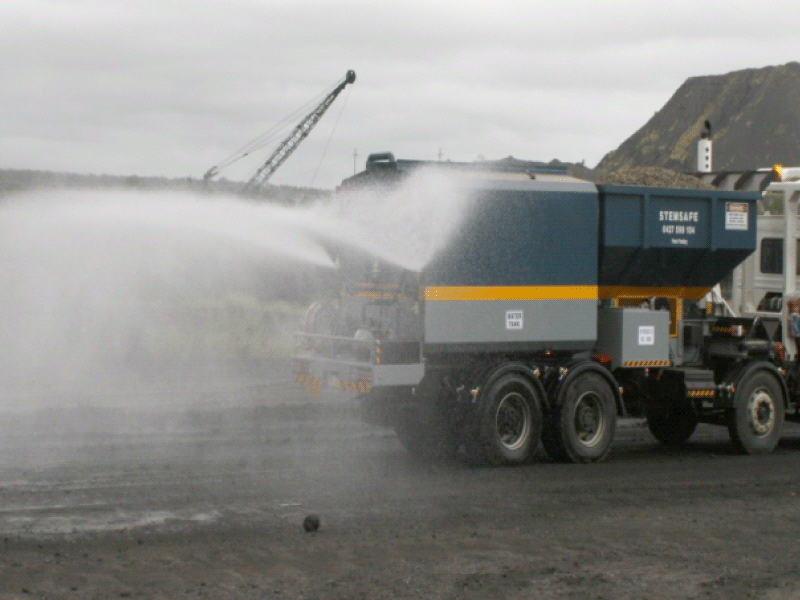 Services for Silica Dust Supression