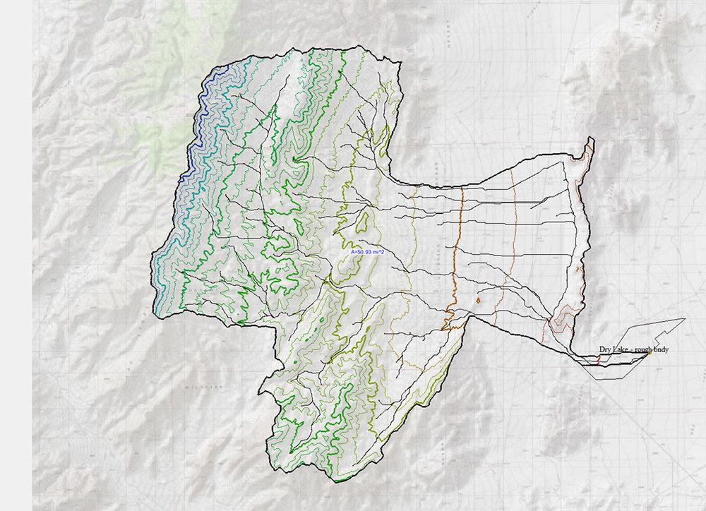 Old Dry Lake, CA - Hydrologic and Hydraulic Analysis