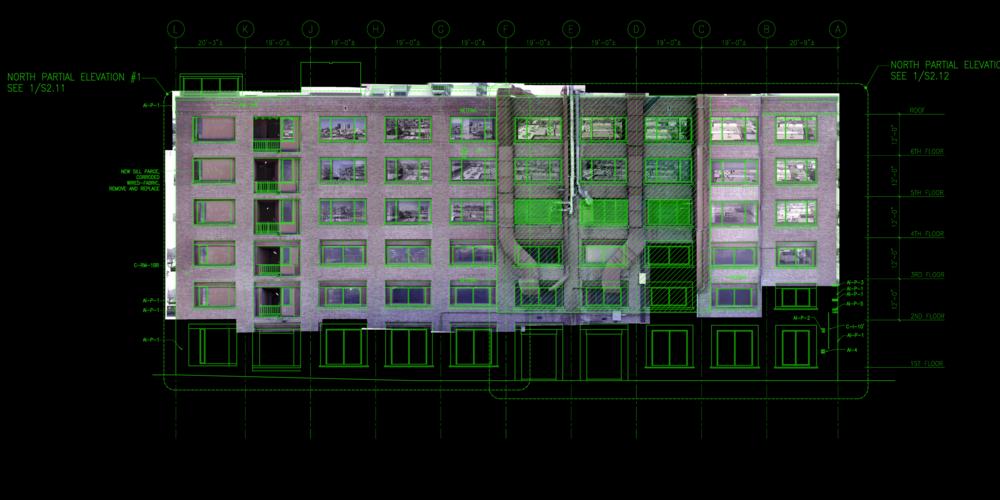 San Francisco, CA - High-Res Building Facade Inspection