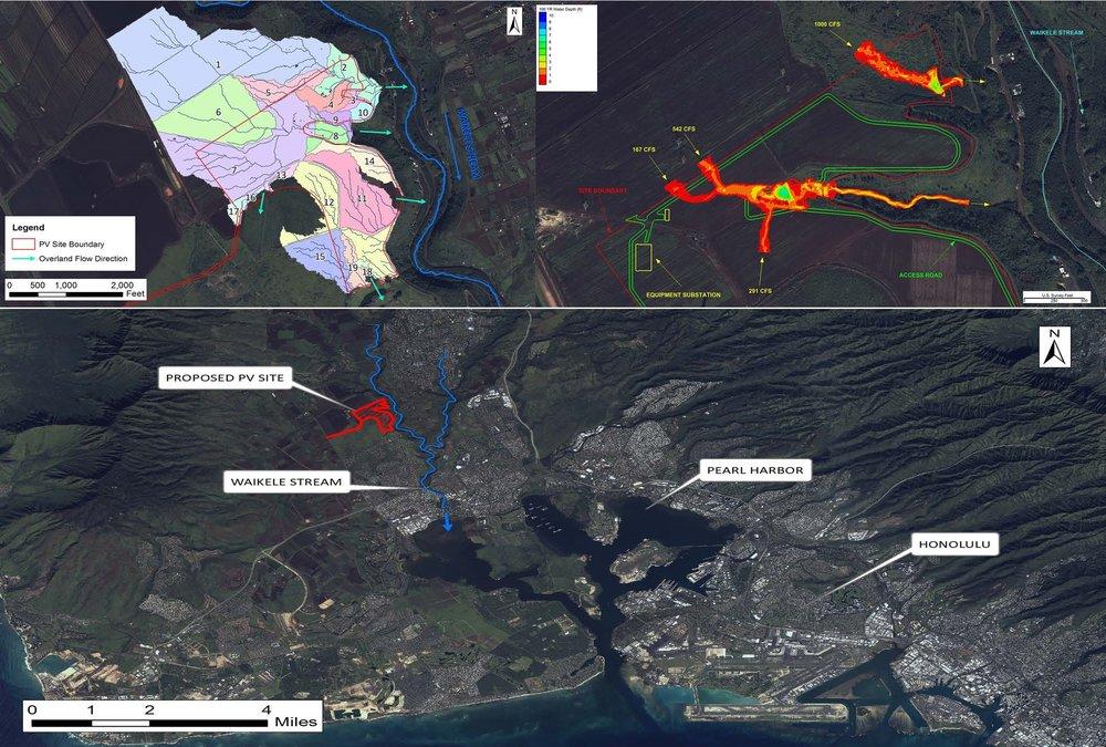 Hawaii - Hydrologic & Hydraulic Site Assessment Analysis