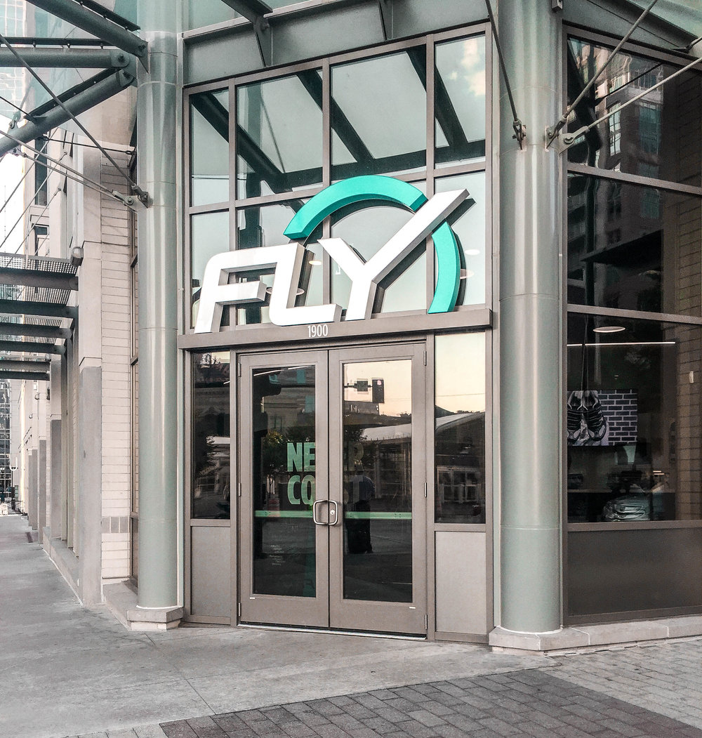 New Flywheel studio across from Union Station & Whole Foods