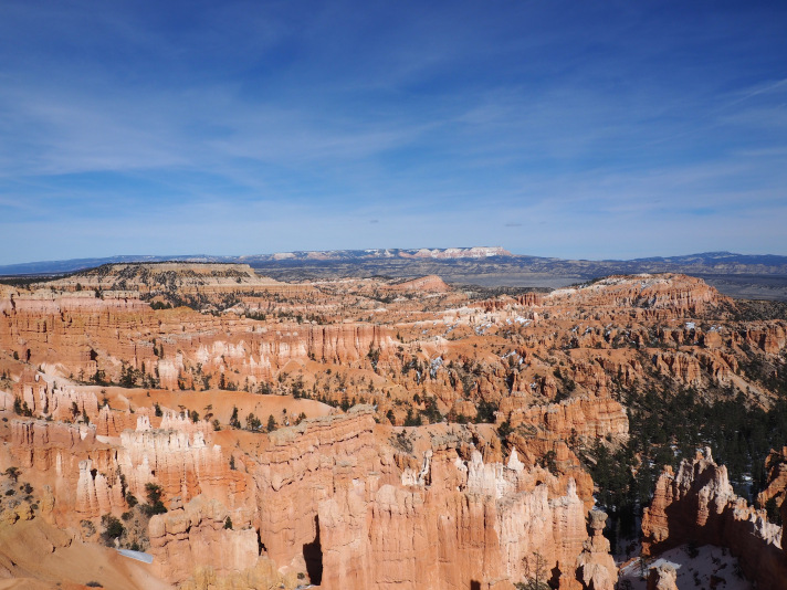 Bryce Canyon from one of the roadside lookout points