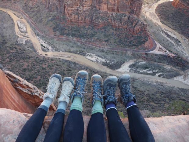 Six feet, 1500 feet above the ground