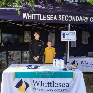 Students and staff attended the 2018 whittlesea show to talk about exciting new programs coming soon at wsc - and we won best community stand!