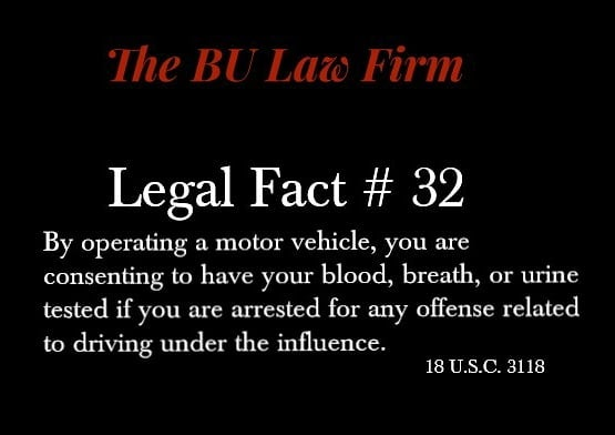 #100legalfactsof2018 #criminaldefense #duifacts #searchandseizure #knowyourrights #knowledgeispower #thatsfact #thebulawfirm