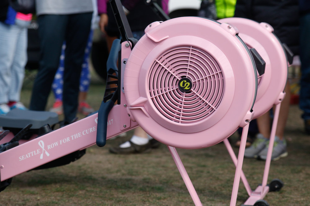 Any team can win a Pink Erg in 2018! $8k goal for youth teams and $10k goal for masters team!