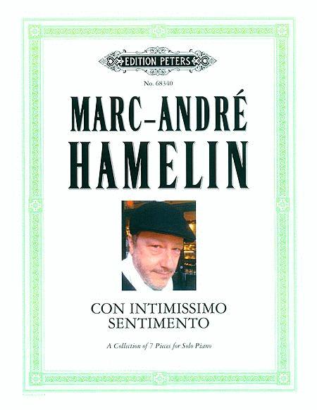 Con Intimissimo Sentimento  (1986 - 2000)  A Collection of 7 Pieces for Solo Piano  Solo Piano |  Edition Peters