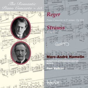 Reger & Strauss: Piano Concertos - iTunes | Amazon