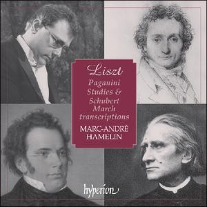 Liszt: Paganini Studies & Schubert March - iTunes | Amazon