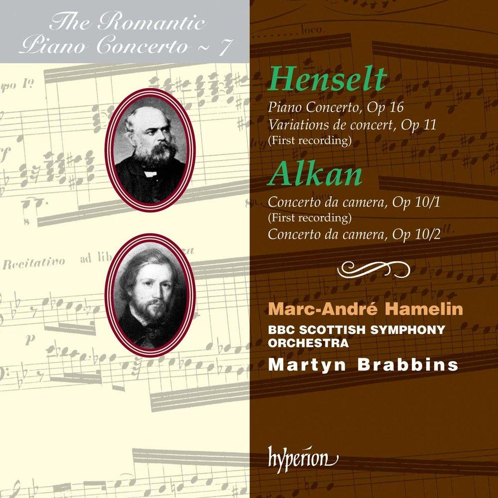 Henselt and Alkan: Piano Concertos - iTunes | Amazon