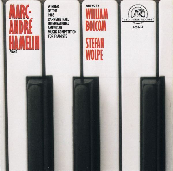 Works by William Bolcom & Stefan Wolpe - Discogs