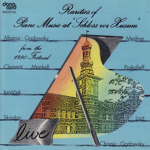 Rarities of Piano Music at Schloss vor Husum, 1990 Festival -