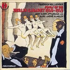 Songs of the Berlin Cabaret: 1920-1929 - iTunes | Amazon