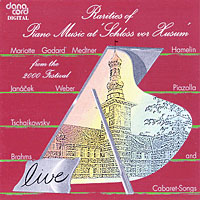 Rarities of Piano Music at Festival at Schloss Vor Husum, 2000 Festival - Amazon