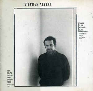Stephen Albert – Flower of the Mountain / Into Eclipse (Marc not credited) - Amazon